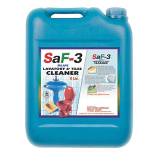 SAF BLUE LAVATORY AND TILES CLEANER Nathpeters - Cleaning agent for tiles