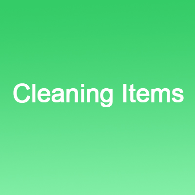 Cleaning and other Items